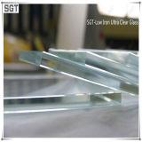 3mm het Lage die Glas van het Ijzer voor Decoratie met Ce van Beste Materiaal wordt gemaakt
