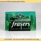 Tiras Quatro Cores magnéticos Cartão de presente de plástico para Franqueada loja