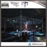 アルミニウム照明トラスシステムが付いている卸し売り屋内ダンスの段階