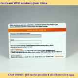 Voll PVC-Karte mit Unterschrift Panel für Client-Karte gedruckt