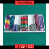 La obra clásica tradicional del casino estándar modela la bandeja plástica de acrílico Ym-CT05 de la viruta de póker