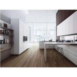 新しいデザイン現代白いラッカー木の卸し売り食器棚