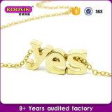 L'alfabeto della lega di modo di prezzi di fabbrica segna il pendente con lettere per la fabbricazione dei monili