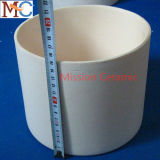 Чашка высокотемпературного истирательного упорного глинозема керамическая