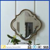 Espelho chanfrado dado forma da parede do projeto de China flor barato original