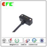 connettore di cavo magnetico 4pin sulla fascia astuta di Weareable e sulla vigilanza astuta