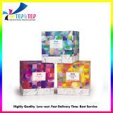 Square de la peau des emballages de produits de soins de Emballage de cadeau Boîte en carton avec du papier Bac Flacking cosmétique