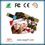 Regalo di affari di carta di credito carta di nome Flash USB Pen Drive