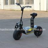 オフロード気違いの電気オートバイ1600Wの脂肪質のタイヤ48V 12ah