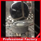 Черный гранит шаровой шарнир с G603 Основание фонтана