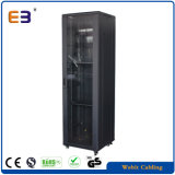 42u Rede armário metálico para dados e gerenciamento de cabos