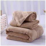 高品質の贅沢なタケ浴室タオル一定550g