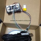 Msr009 com 3mm 2 vias 3faixas do leitor de cartão magnético