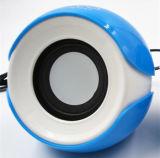 Altofalante portátil do USB dos olhos grandes mini
