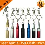 Lecteur flash USB Shaped d'OEM en métal de bouteille à bière (YT-1216)