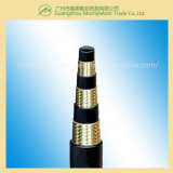 Flexible hydraulique de câble tressé de mine de charbon (602-3B-5/8)