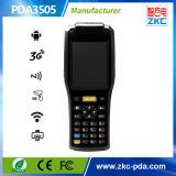 Zkc PDA3505 3G 인조 인간 소형 PDA 큐 버스 주차표 열 인쇄 기계