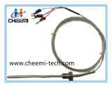 接続ケーブル2ワイヤーが付いている温度センサPT500 Rtdのプローブ