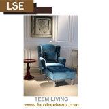 Cadeira de madeira do lazer da mobília moderna da sala de visitas do restaurante do hotel