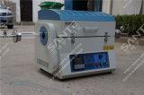 Tipo spaccato forno a camera del quarzo di elevata purezza con il regolatore di temperatura programmabile