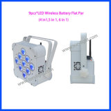 Drahtloses DMX LED 9PCS*15W Batterie NENNWERT Licht