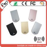 Identificação segura plástica RFID que obstrui protetores do cartão de crédito