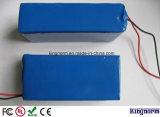 Batería recargable de la capacidad 24V 12ah del fosfato verdadero del litio