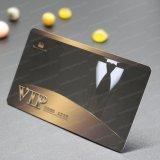 Carte transparente d'IDENTIFICATION RF polychrome en plastique de l'adhésion VIP de PVC