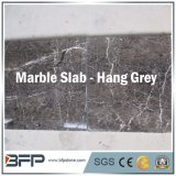 Controsoffitto di pietra di marmo naturale della parte superiore di vanità per la cucina, Grey Cina di caduta della stanza da bagno