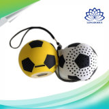Great Sound Football Design Portable Mini alto-falante sem fio Bluetooth