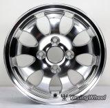 Los mejores bordes de la rueda de coche de la alta calidad del diseño de 13 pulgadas