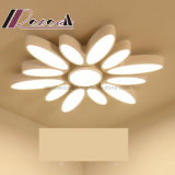 온난한 낭만주의 꽃 유형 독창성 LED 천장 램프