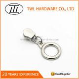 Kundenspezifischer Marken-Firmenzeichen-Metallschweber-Reißverschluss-Abzieher-Entwurf für Reißverschluss