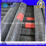 Venda a quente de Fábrica CE/SGS de arame de ferro galvanizado panos de malha de aves de capoeira Galinha Hexagonal