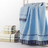 Katoen de Handdoeken van Twee die Reeksen in China voor Bad worden gemaakt