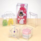 Transparente APET/PVC/PP cosméticos caja de embalaje de plástico