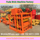 Bloc creux concret semi automatique faisant la machine