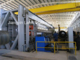 Hydrostatisches Tester Fabrication und Assembly für Spiral Welded Pipe Mill