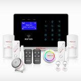 RFIDのカードが付いている無線ホームGSMの侵入者の警報システム