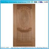人工的でか自然な灰のベニヤは形成されたHDFのドアの皮に直面した