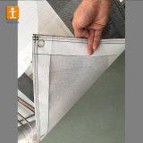 Bandiera su ordine esterna della maglia della rete fissa del poliestere