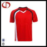 Os homens Short o futebol feito sob encomenda Jersey do projeto do logotipo da luva