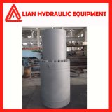 Tipo regulado personalizado cilindro hidráulico do desengate reto com aço de carbono