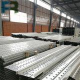 Plancia d'acciaio d'acciaio galvanizzata di Walkboard per l'armatura