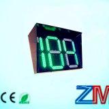 太陽LEDのトラフィックの秒読みのタイマーか秒読みのメートル