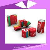 Calendario plegable cilindro cubo mágico con la marca Mc016-004