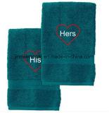 卸売35*75cm、120g、150gの200g表面タオル、手タオル