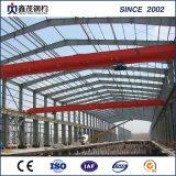 El precio bajo estructura de acero prefabricada Almacén con chapa de acero de color
