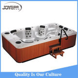 WiFi及びVideo及びTV及びBalboa Control Panel/Hydro SPA Hot TubのJoyspa Jy8001 8 Person 118PCS Nozzles Balboa Hydro Jacuzzi Hot Tub