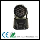 Bewegliches Hauptlicht des Stadiums-18PCS 1With3W LED (YE068/YE068B)